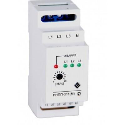 Монитор напряжения фаз Реле контроля фаз РНПП-311М