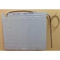 Испаритель SC - 125 S для бытовых холодильников BN 420 мм х 470 мм