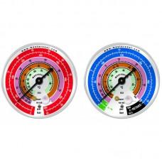 Манометр EBL низкого давления D80мм, R22/R407C/R410A Mastercool 57500