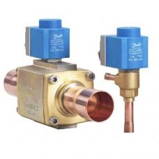 "Клапан терморегулирующий (3/8"" x 1/2"") с электроприводом AKV10-1 (068F1161)"