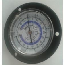 Мановакуумметр FRG - 250 R - 600 (68 мм) Крепление на панель (низкое дав.)